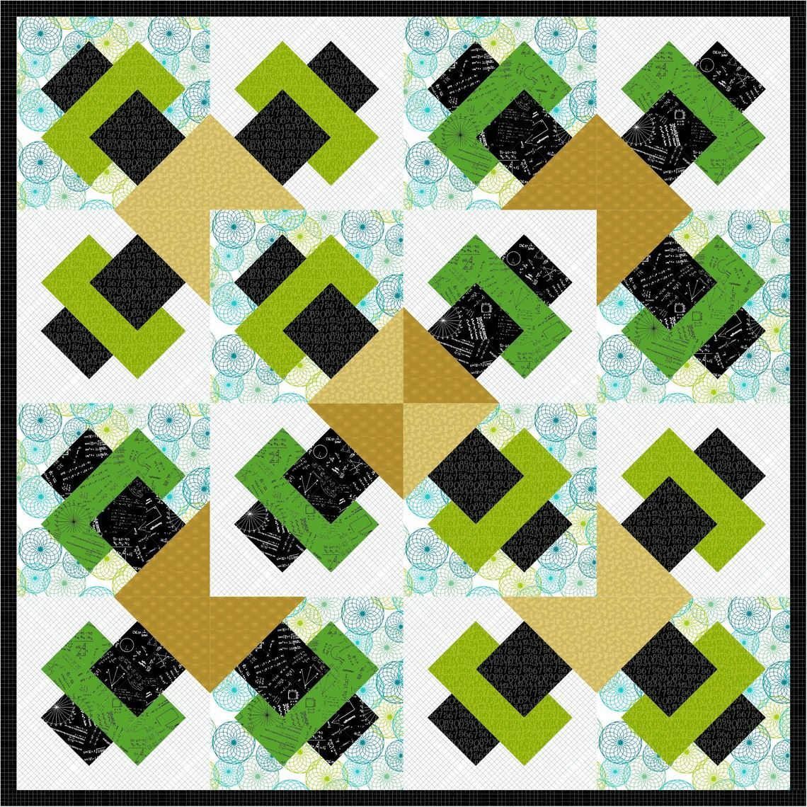 Just a Slice Quilt 3