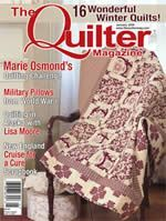 Featured in the January 2009 issue of The Quilter