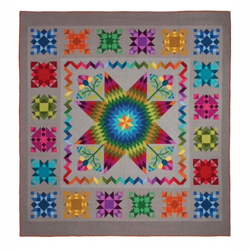Block Of The Month Patterns Getting To Know Hue Quilt Kit