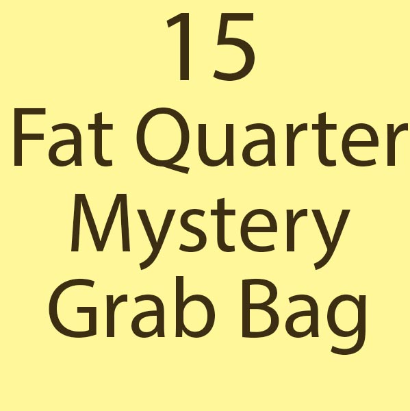 15 Fat Quarter Mystery Grab Bag