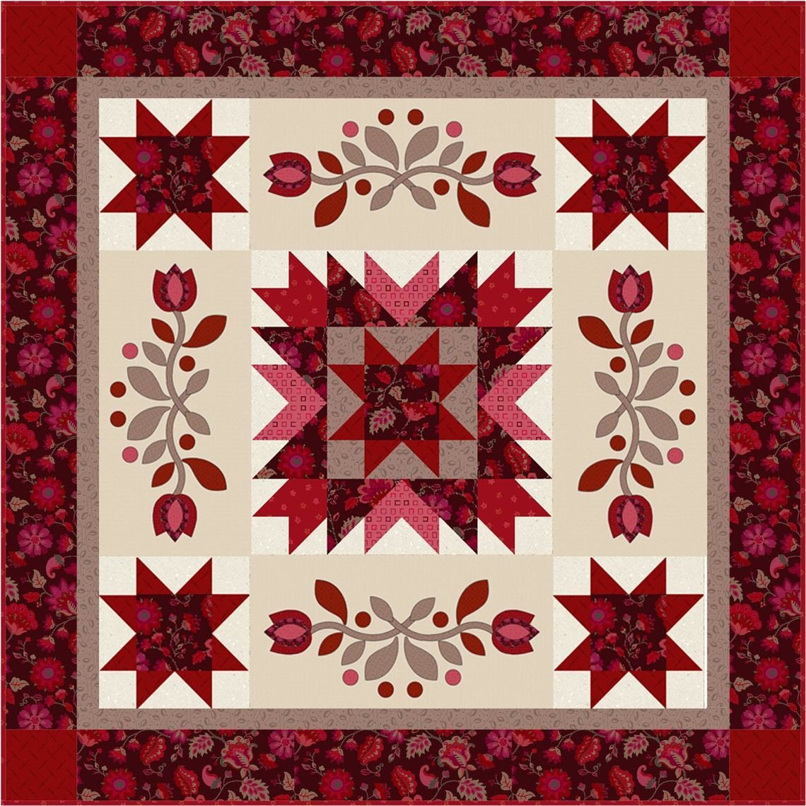 james dear quilt quilting sew enchanting devon kits home quilts kit img