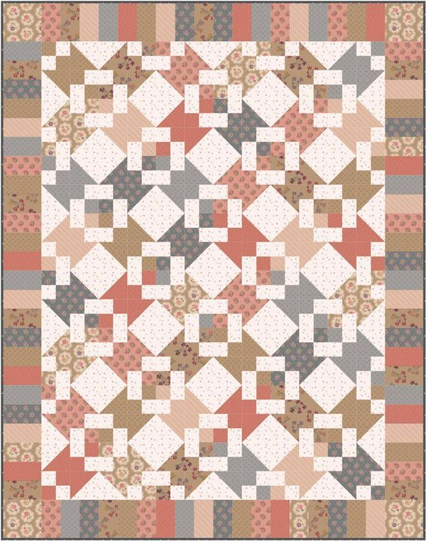 ON SPECIAL Buffington Walk Quilt Kit