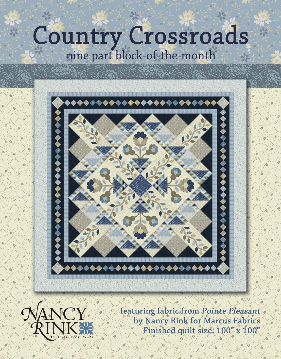 Country Crossroads BOM Pattern