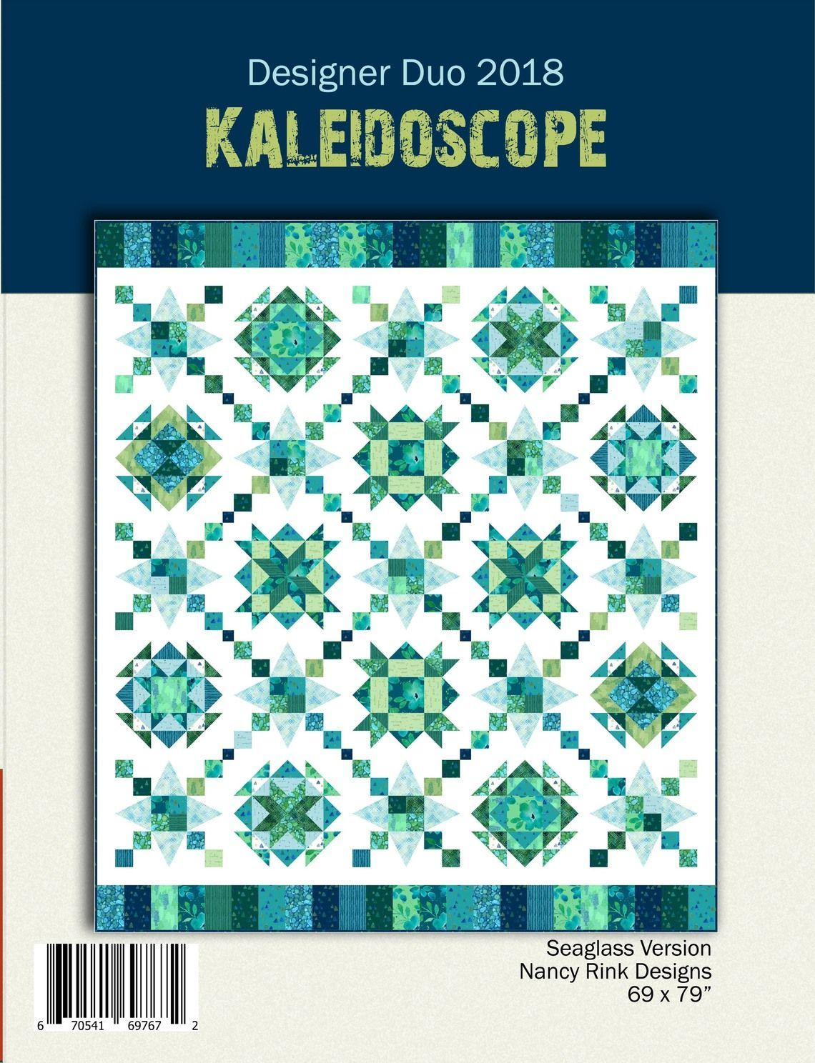 Designer Duo 2018: Kaleidoscope Pattern Booklet