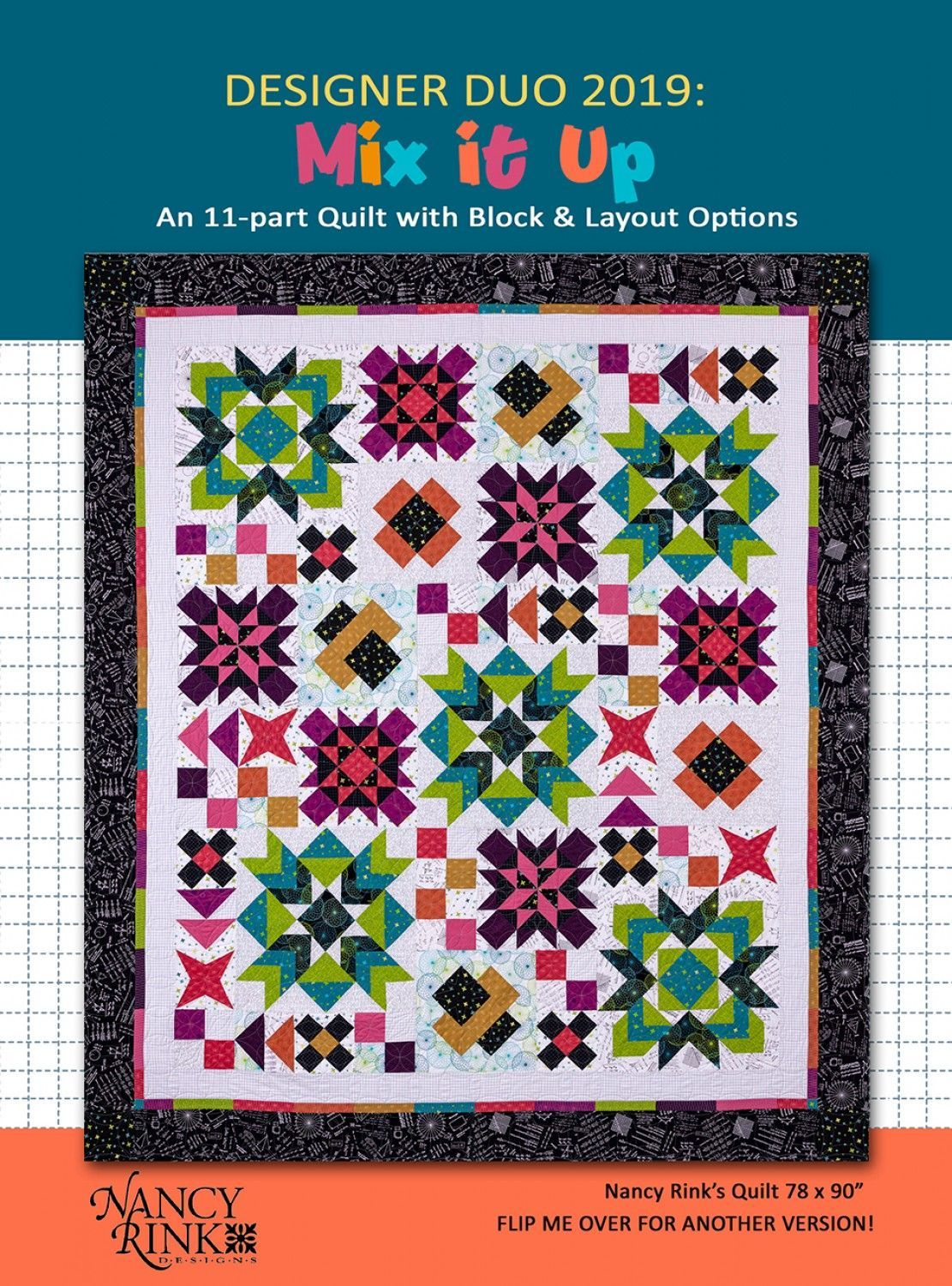 Designer Duo 2019: Mix It Up Pattern Book