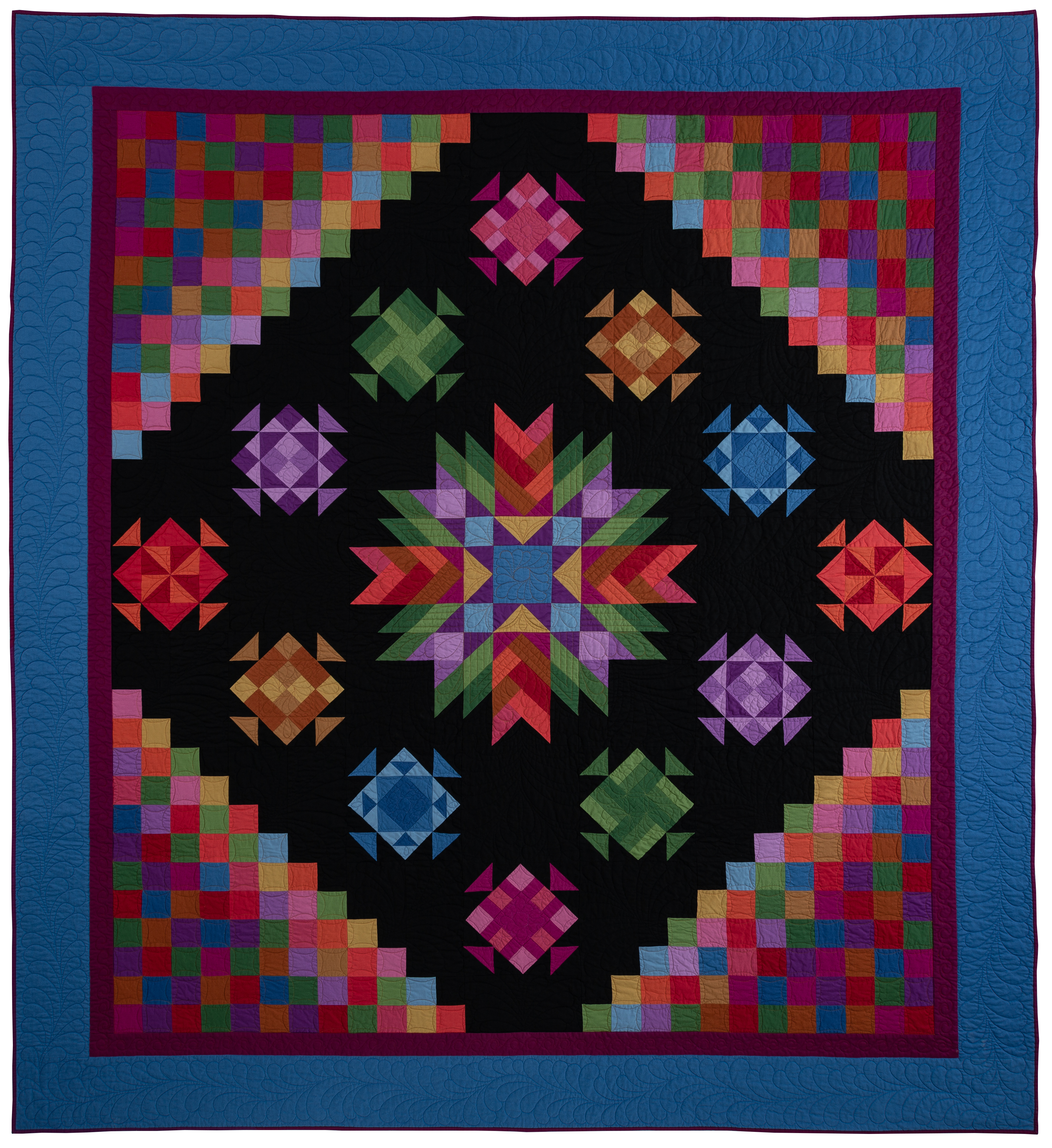 Amish With a Twist 4 Quilt Kit