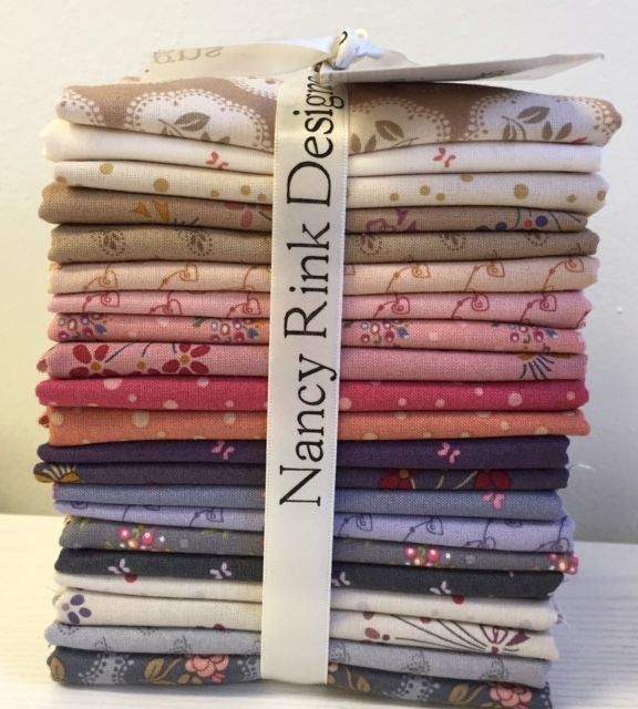 ON SPECIAL On Plumberry Lane 18 Piece Fat Quarter Bundle