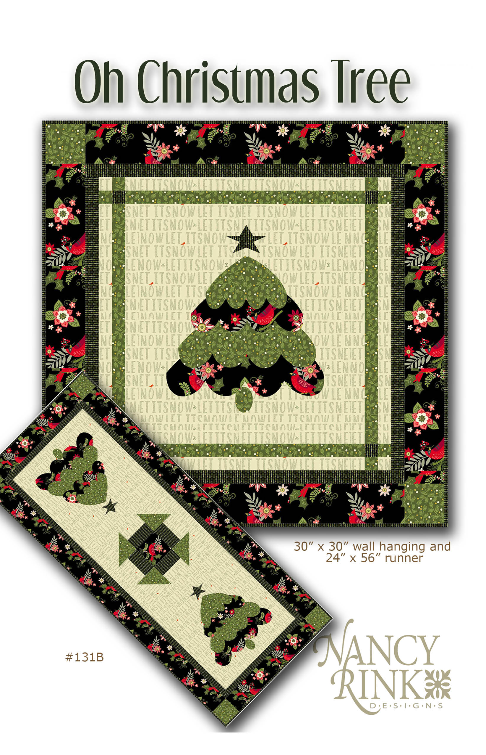 #118 Oh Christmas Tree pattern