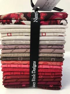 Remember Red 20 pc Fat Quarter Bundle