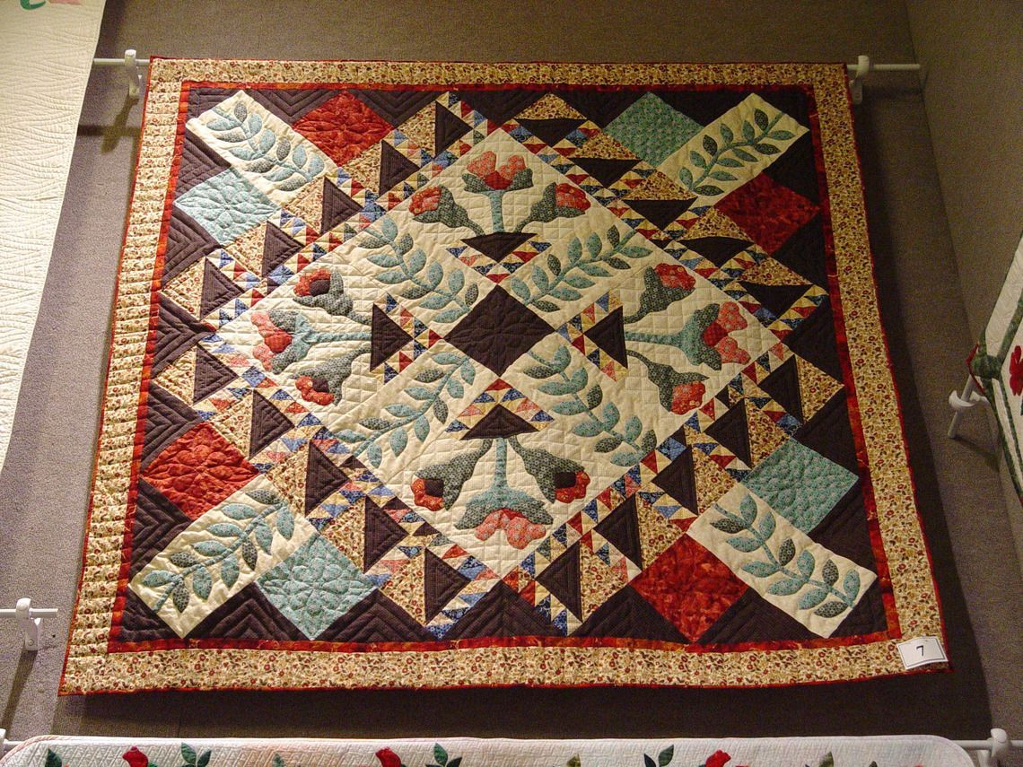 Quilt patterns: country crossroads bom pattern
