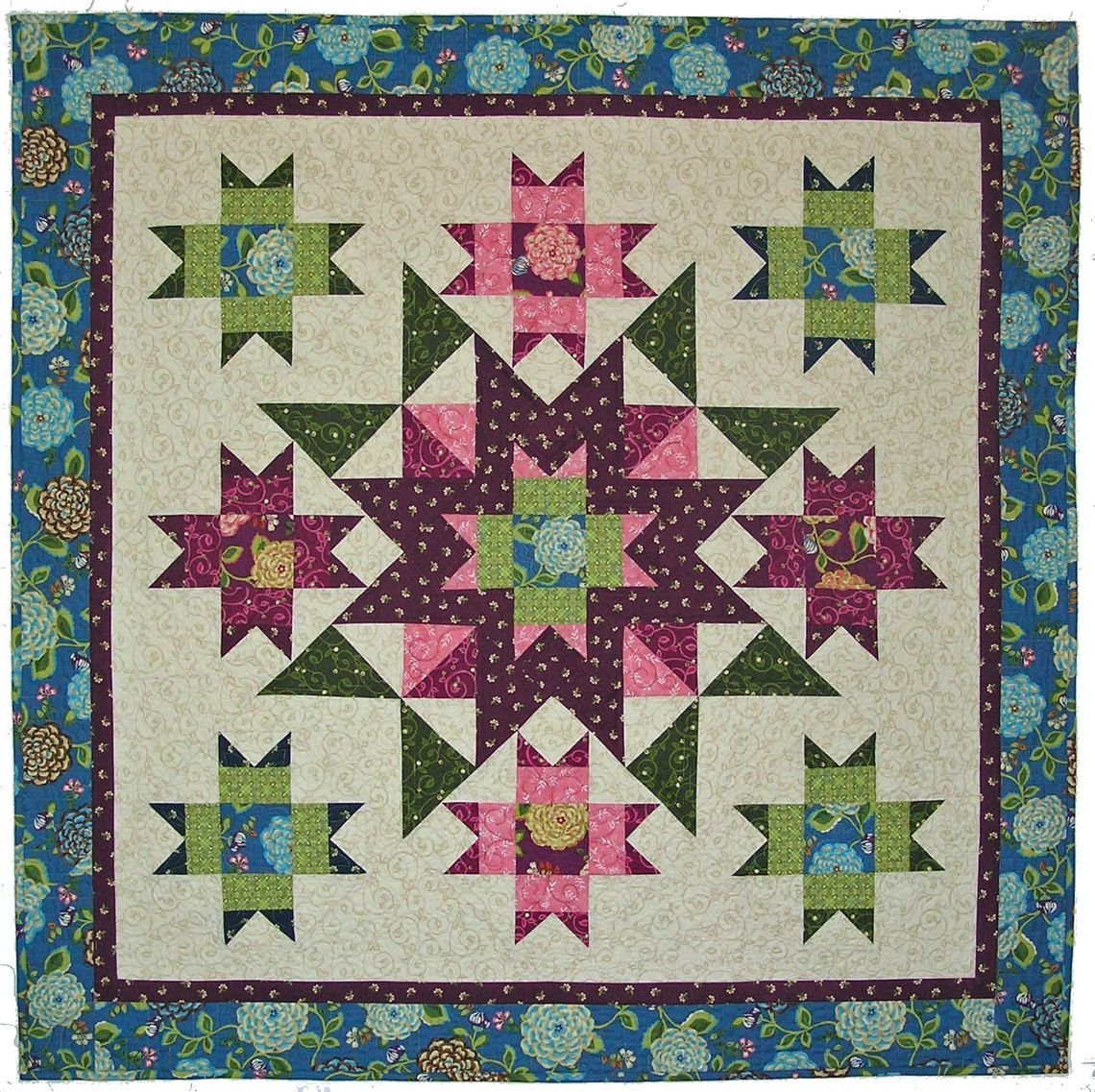 unfinished quilt me img centre blogged mystery here sew medallion p originally
