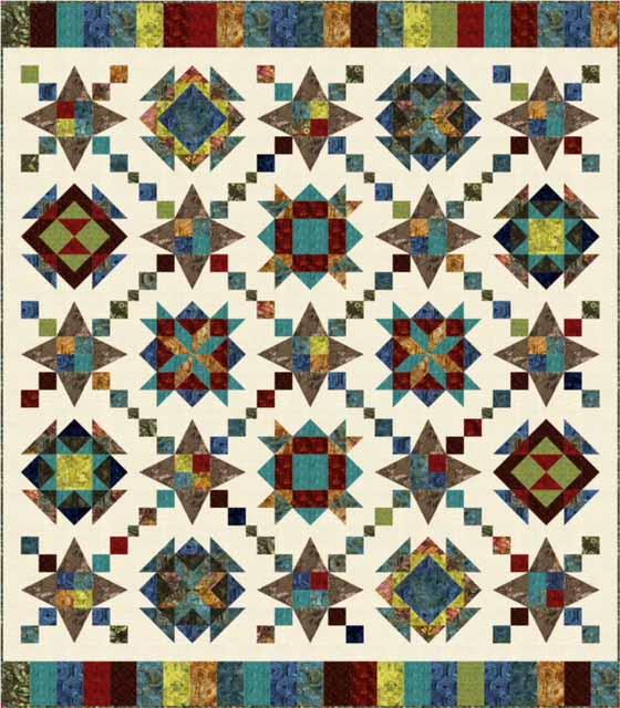 Quilt Patterns Designer Duo 60 Kaleidoscope Pattern Booklet New Kaleidoscope Patterns