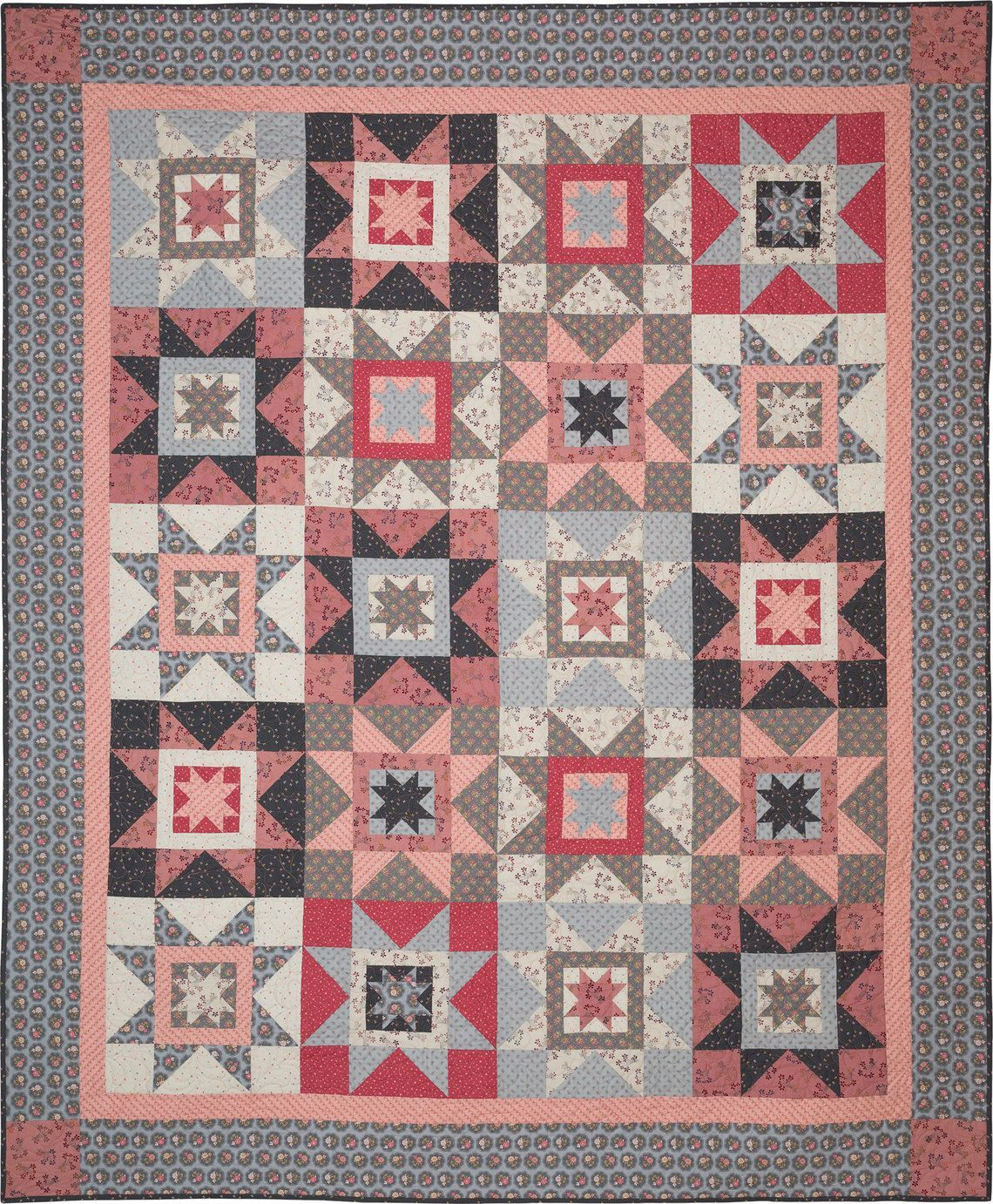 ON SPECIAL Cottage Stars Quilt Kit