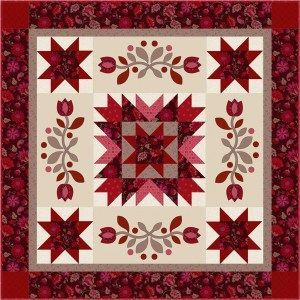 Bountiful Updated 45in sq wallhanging