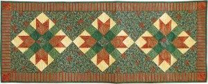 #111 Christmas Table Runner pattern