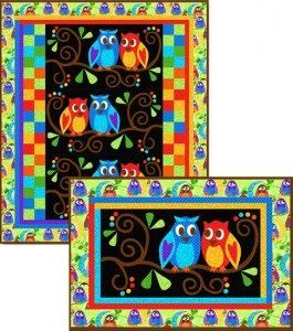 #169 Loves a Hoot pattern