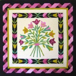 Quilt Patterns 113 Tulip Bouquet Pattern