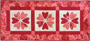 Valentine Table Runner kit