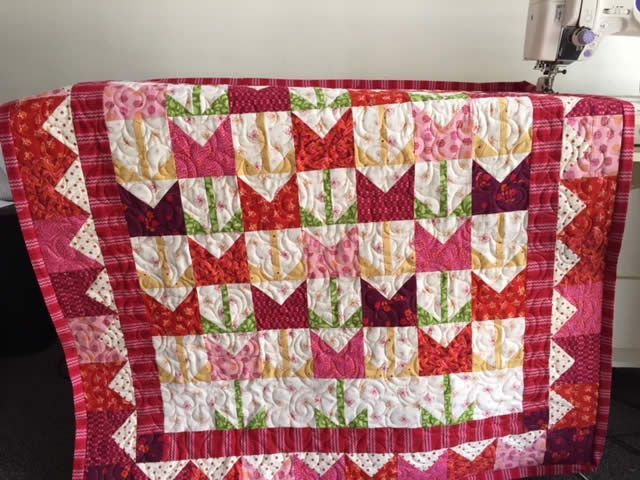 Quilt Patterns 195 It S Tulip Time Pattern